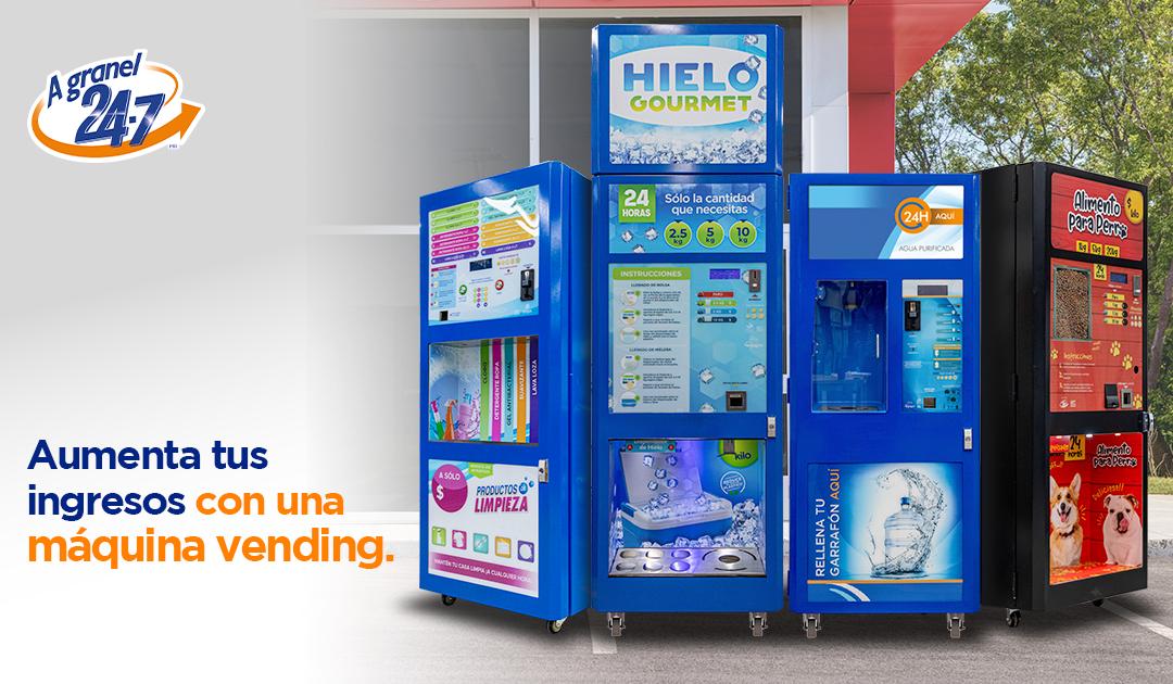 Idea de negocio: gana dinero con una máquina vending