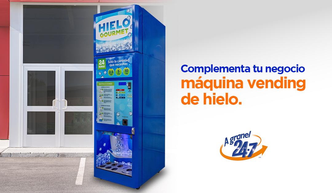 Máquina Vending de Hielo